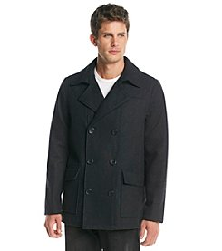 Buffalo by David Bitton Men's Wool Double Breasted Peacoat
