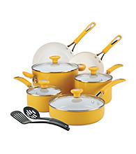 SilverStone Ceramic CXi 12-pc. Mango Yellow Nonstick Cookware Set