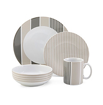 Nautica® Knots Bay Taupe 4-pc. Place Setting