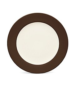 Noritake Colorwave Chocolate Rim Salad Plate