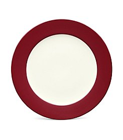 Noritake Colorwave Raspberry Rim Dinner Plate