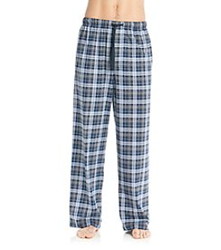 John Bartlett Statements Men's Grey Lake Plaid Knit Pants