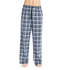 John Bartlett Statements Men's Grey Lake Plaid Knit Pants