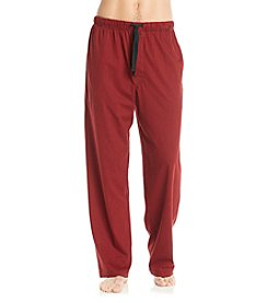 John Bartlett Statements Men's Red & Black Houndstooth Knit Pant