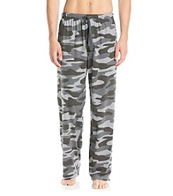 John Bartlett Statements Men's Grey Camo Print Knit Pant