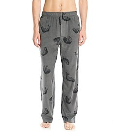 John Bartlett Statements Men's Grey Fish Microfleece Pants