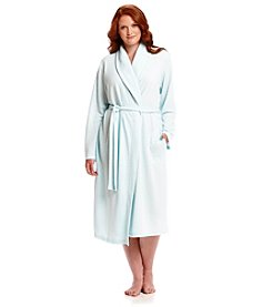 Jasmine Rose® Plus Size Spa Wrap Robe