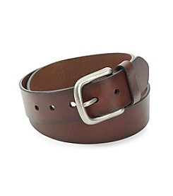 Levi's® Men's Brown Big & Tall Roller Buckle Belt