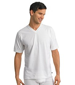 Jockey® Men's White 2-pk. Stay Cool V-Neck Tee