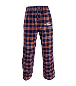 Concepts Sport Men's Denver Broncos Flannel Pants
