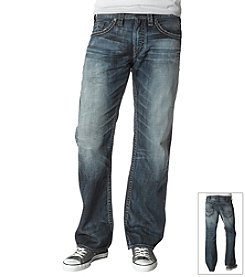 Silver Jeans Co. Men's Indigo Zac Straight Fit Jeans