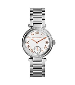 Michael Kors® Stainless Steel Mini Emery Watch