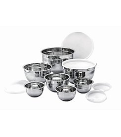 Kevin Dundon Signature 14-pc. Stainless Steel Mixing Bowl Set