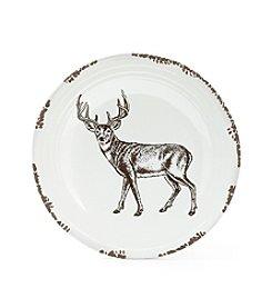 Ruff Hewn Standing Deer Platter