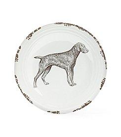 Ruff Hewn Standing Dog Platter