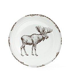 Ruff Hewn Standing Moose Platter