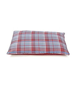John Bartlett Pet Red Plaid Pet Bed