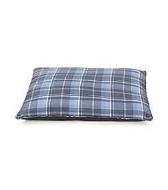 John Bartlett Pet Blue Plaid Pet Bed