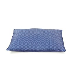 John Bartlett Pet Blue Mosaic Pet Bed