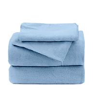 LivingQuarters Solid Fleece Sheet Set