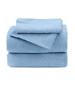 LivingQuarters Solid Fleece Sheet Set