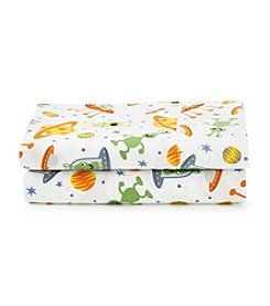 LivingQuarters Cold-Weather Performance Aliens Microfiber Sheet Set
