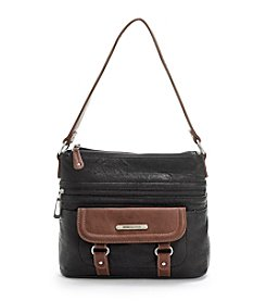 Stone Mountain® Black/Brown Oxford Shoulder Bag