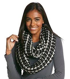 Cejon® Chunky Two Tone Knit Infinity Scarf