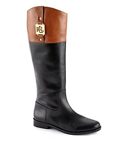 "Lauren Ralph Lauren ""Jaden"" Low Heel Riding Boots"
