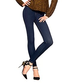 HUE® Midnight Rinse Curvy Fit Jeans Leggings