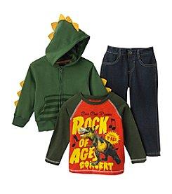 Nannette® Boys' 2T-4T Dino Set