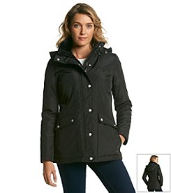 Jessica Simpson Seamed Jacket With Fleece Collar