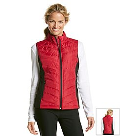 Exertek® Chevron Quilted Zip Vest