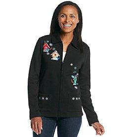 Breckenridge® Point Collar Fleece Cardigan - Northern Homes