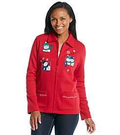 Breckenridge Fleece Cardigan - Snow Pals