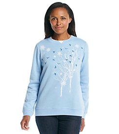 Breckenridge® Embroidered Sweatshirt- North Wood Frost