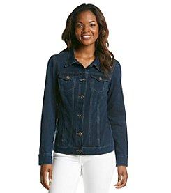 Bandolino® Roxy Knit Denim Jacket