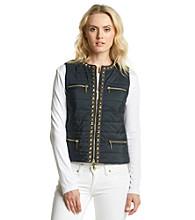MICHAEL Michael Kors® Stud Detail Puffer Vest