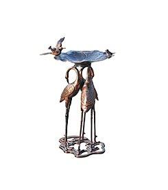 Sunjoy Danbury Crane Birdbath