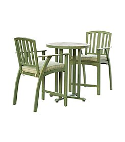 Sunjoy Green Sanibel Bistro Set