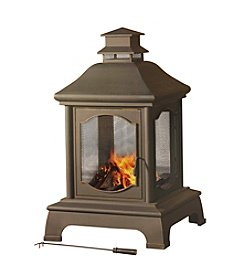 Sunjoy Oakwood Outdoor Fireplace