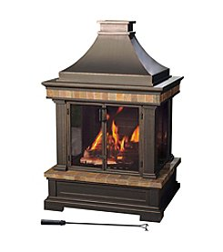 Sunjoy Panorama Outdoor Fireplace