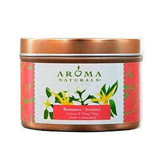 Aroma Naturals® Romance Aromatherapy Tin Soy Aromatherapy Candle