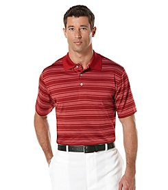 PGA TOUR Men's Three Color Stripe Polo Shirt