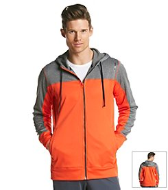 Reebok® Men's Colorblock Zip Hoodie
