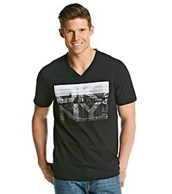 DKNY JEANS® Men's Photocopied Graphic Tee