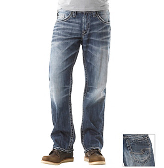Silver Jeans Co. Men's Light Gordie Straight Fit Jeans
