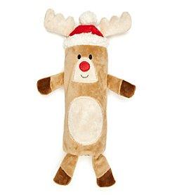 John Bartlett Pet Reindeer Cruncher Dog Toy