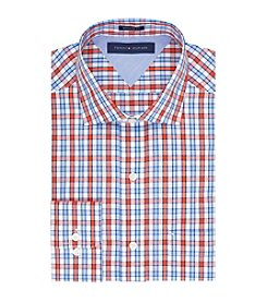 Tommy Hilfiger® Men's Orange Regular Fit Dress Shirt