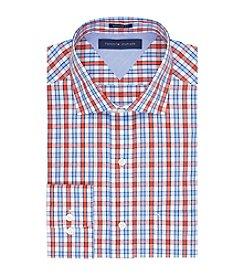 Tommy Hilfiger® Men's Orange Regular Fit Dress Shirt